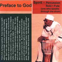 Spirit - Preface to God