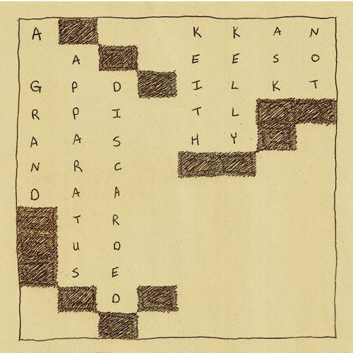 Keith Kelly Ask Not -A Grand Apparatus, Discarded